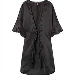 NWT Black Victoria Secret Very Sexy Kimono Robe
